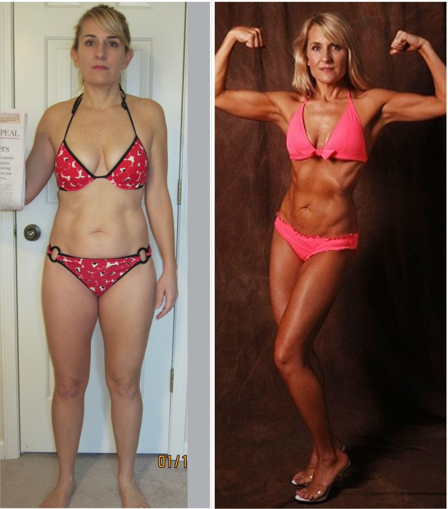 Jenny - Second Place - Before and After