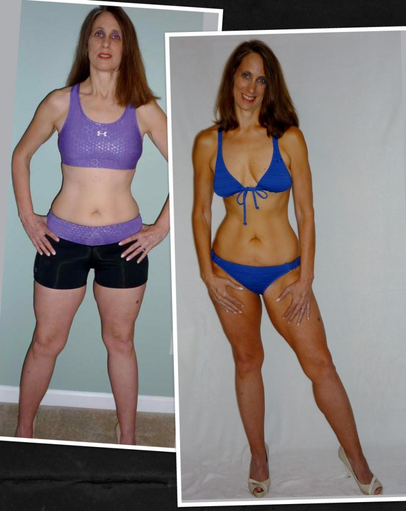 Kerry lost 9 pounds in 12 weeks and got down to her exact VI ideal metrics.